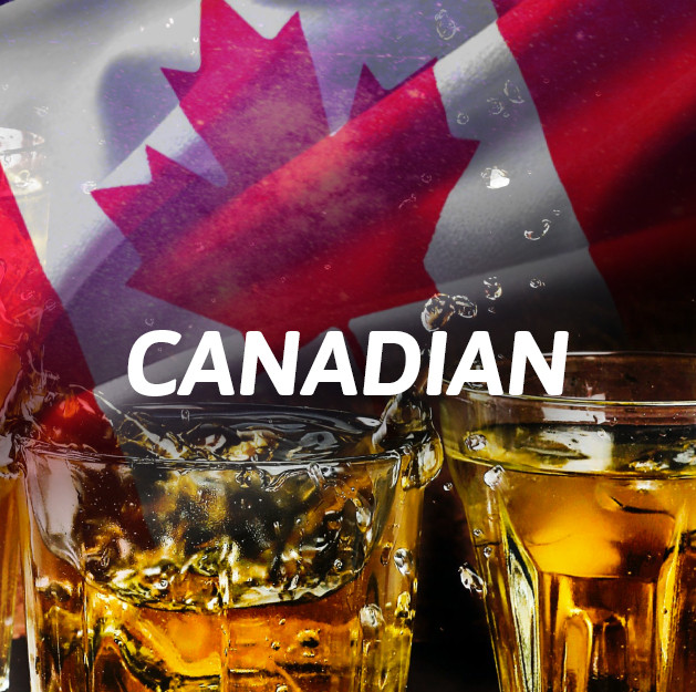 Canadiense Whisky