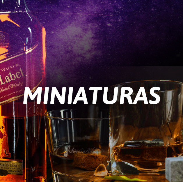 Miniaturas Whiskys