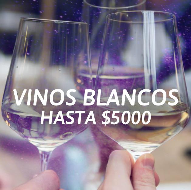 Vinos Blancos Hasta $5000